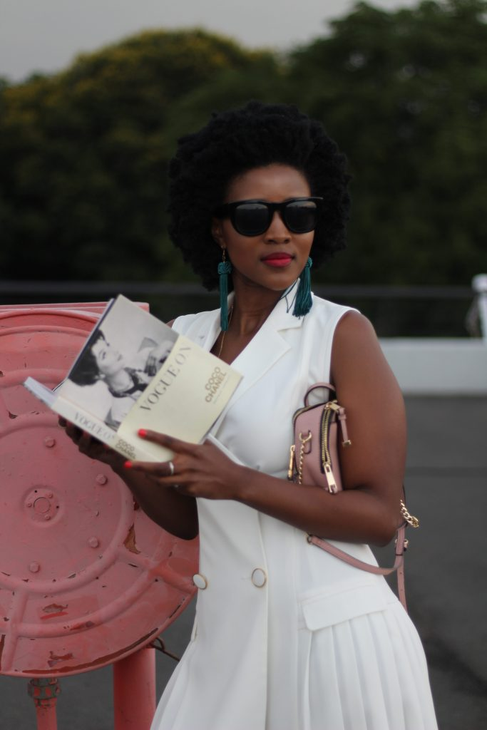 Reading books, serving looks, learning and empowering with the Blazer Dress and 1 other accessory we all need to have to add to a great look