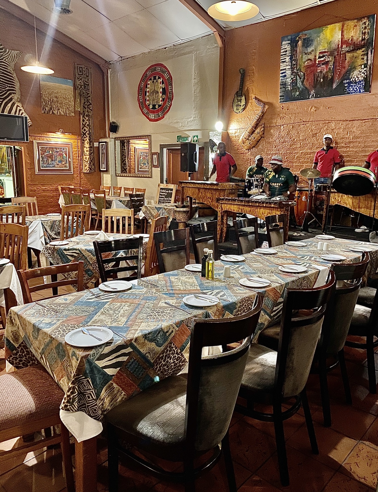 Marco's African Restaurant in Cape Town's city bowl